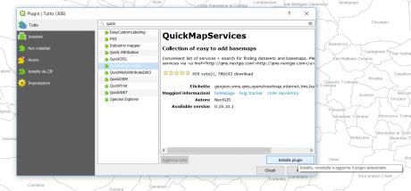 QuickMapServices